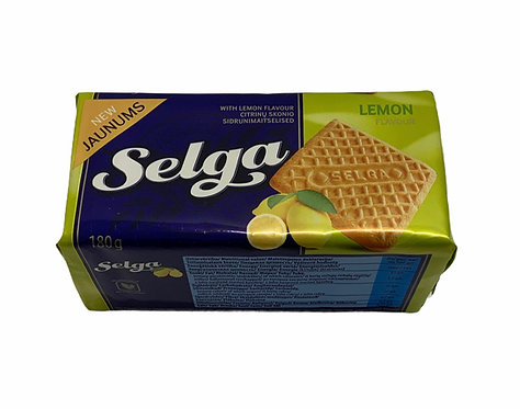 Selga Lemon Flavour Biscuits 180g