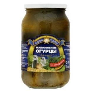 Teshchiny Recepty Dachnyje Salted Cucumbers 900ml