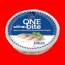 One Bite Slightly Salted Herring Fillet 210g