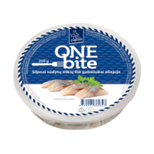 One Bite Slightly Salted Herring Fillet 210g