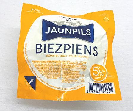 Jaunpils Curd Cheese 5%Fat 275g