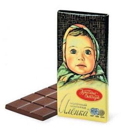 Krasnij Oktiabr - Alenka Milk Chocolate 100g