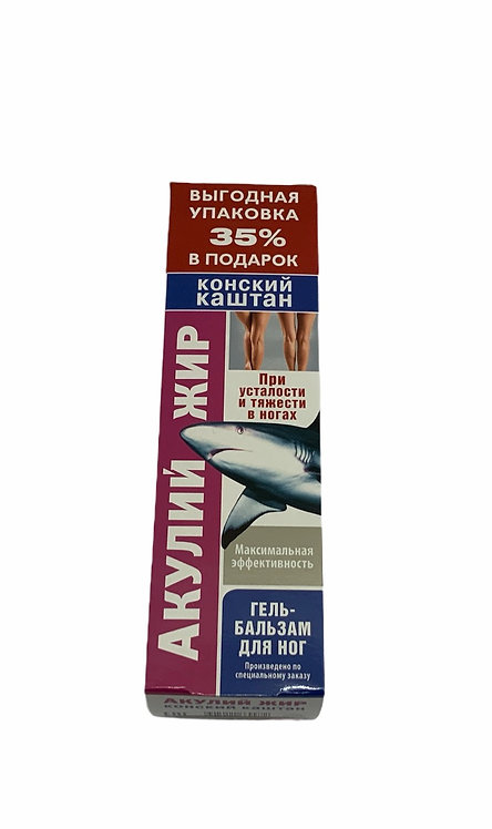 Shark Fat And Horse Chestnut Gel Balsam For Feet 125g