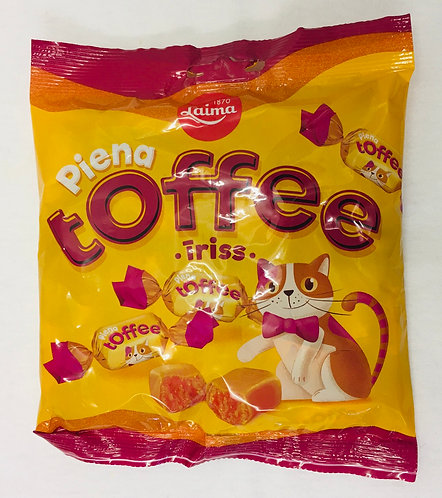 Laima Milk Toffee Caramels 110g