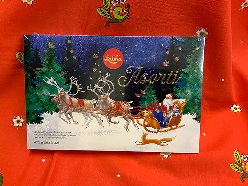 Christmas Sweets, Dark Chocolate Assortment, Laima  470g