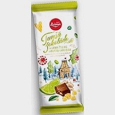 Laima - Dark Chocolate with Lime Jelly and Ginger Pieces 100g