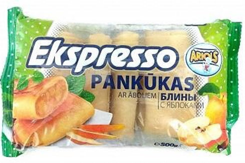 "Pancakes With Apple Filling ""Ekspresso"" 500g"