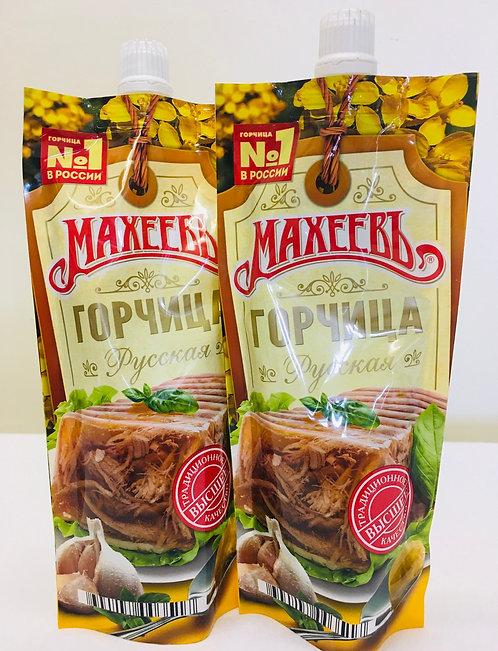 """Maheev Mustard """"Russian"""" 140g"""
