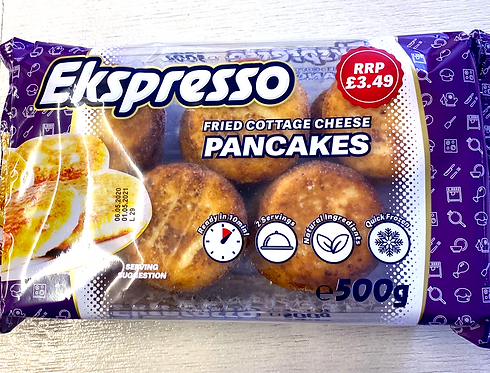 "Cottage Cheese Pancakes ""Exspresso"" 500g"