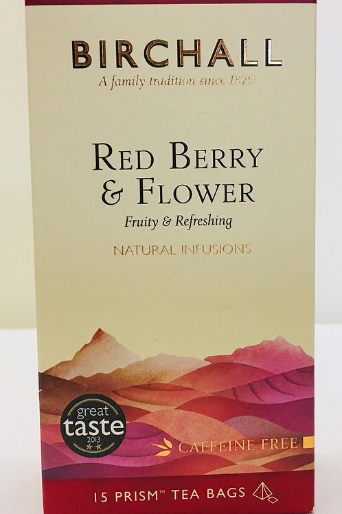 Birchall Red Berry And Flower