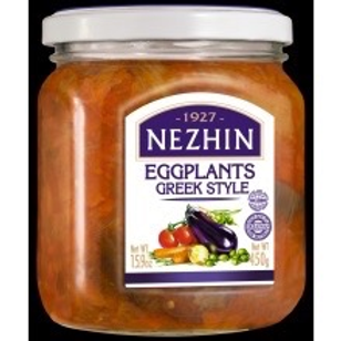 Nezhin Eggplants Greek Style 450g