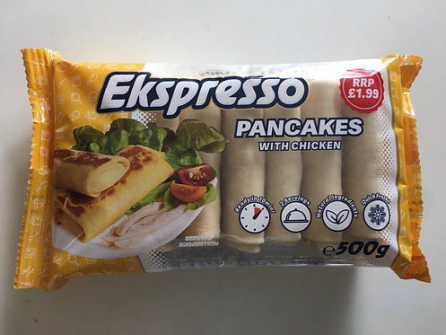 "Pancakes With Chicken""Ekspresso"" 500g"