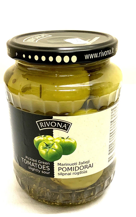 "Pickled Green Tomatoes ""Rivona""  700g"
