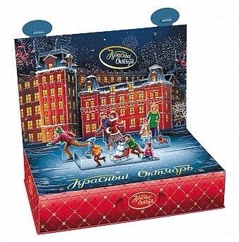 Krasny Oktyabr Christmas sweets gift 500g
