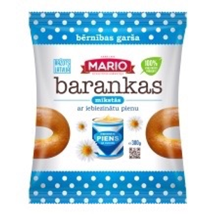Mario Soft Bagels with Condensed Milk 300g