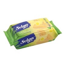 Selga Lemon Flavour Wafers 90g