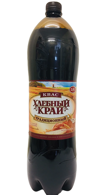 "Kvass ""Khlebny Kray Traditional"",  2L"