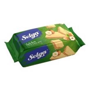 Selga Hazelnut Flavour Wafers 90g