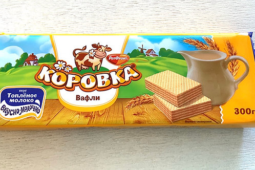 RotFront - Korovka Wafers with Baked Milk Taste 300g