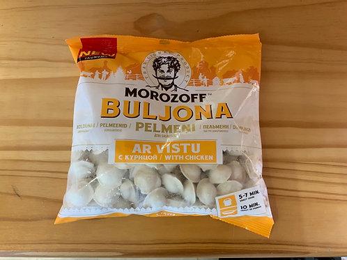 """Dumplings With Chicken meat """" Buljona"""" 400g"""