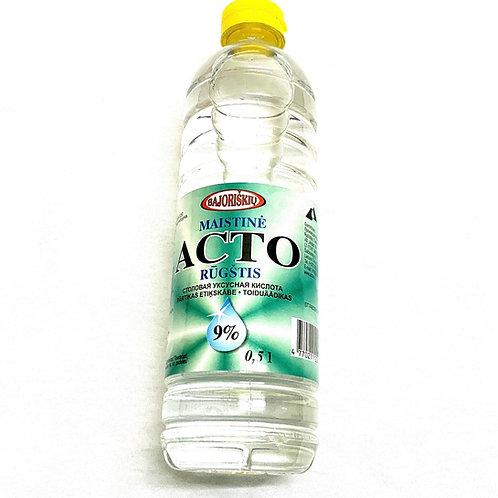Actas Acetic Acid Food Grade 9% 0.5 L