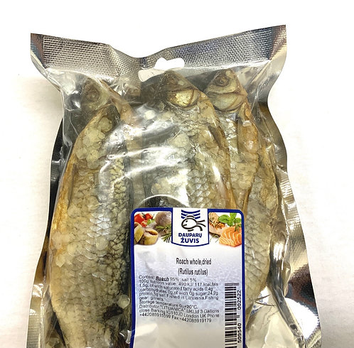 Fish Daupary Zuvis Whole Dried Roach,  0.257
