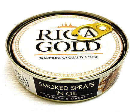Gamma A Sprat in Oil 160g( key)