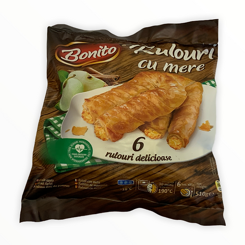 Bonito Rolled Apple Pie 510g
