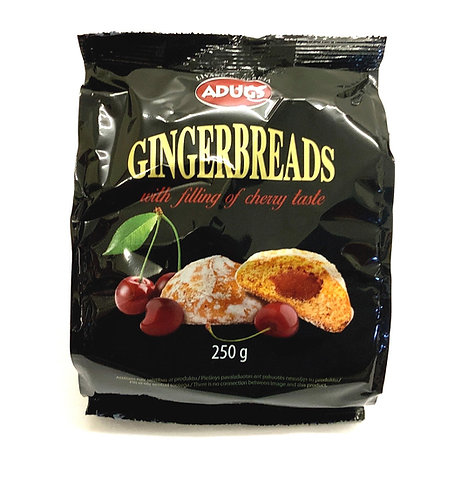 Gingerbread With Filling of Cherry Taste 250g