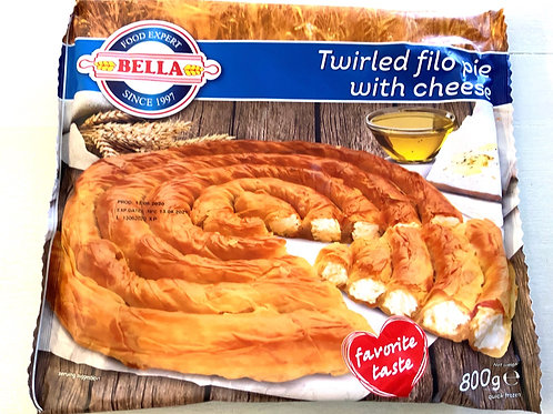Twisted Pie With Cheese, Bella 800 g Frozen