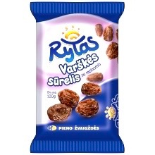 Rytas Curd Cheese Bar with Raisins 100g