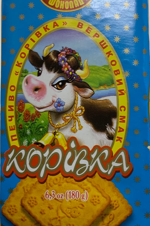 """Biscuits """"Korovka Slivochnaya"""" 180g"""