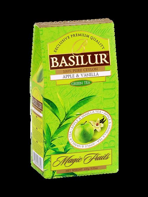 Apple & Vanilla Fruit Loose Ceylon Green Tea 100g