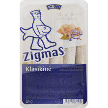 Zigmas Classical slightly salted  in oil 240g