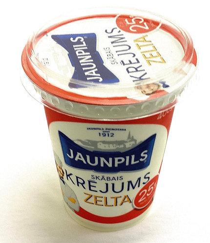 Sour Cream 25% Zelta 400g