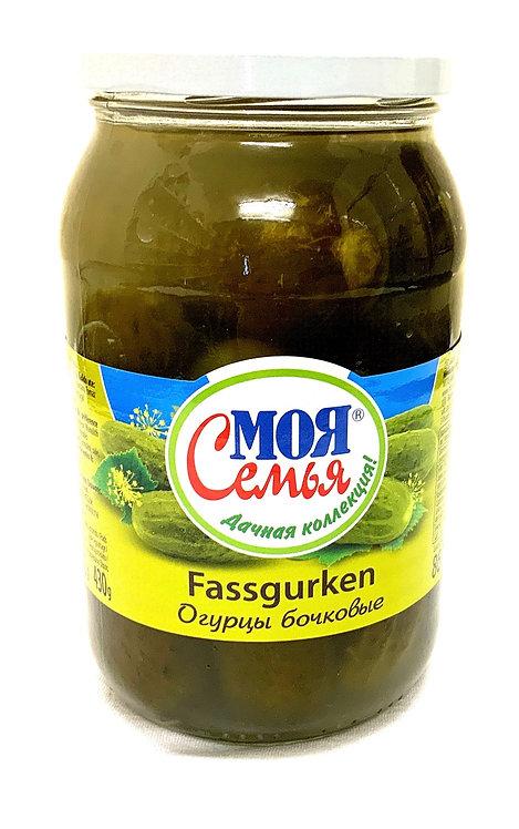 Cucumbers Bochkoviye My Family 860g