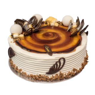 Caramel Cake 950g £13.50
