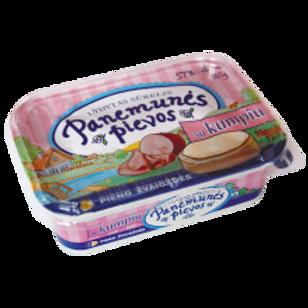 Panemunes Pievos Melted Cheese with Ham 185g