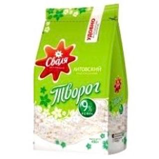 Svalia - Curd 9% Fat in Bag 450g