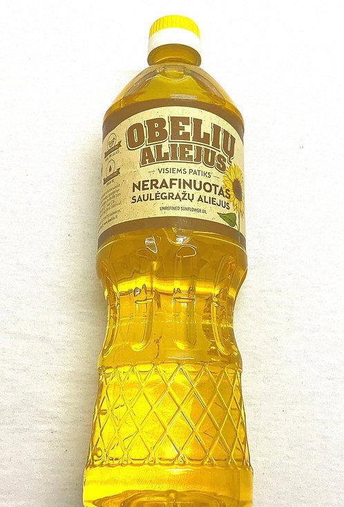 Obeliu Unrefined Sunflower Seeds Oil 900ml