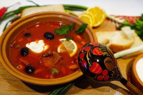 Homemade Hodgepodge ( Soljanka soup ) 1 L