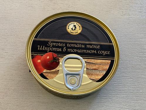 Brivais Vilnis Smoked Sprats in Tomato Sauce 160g