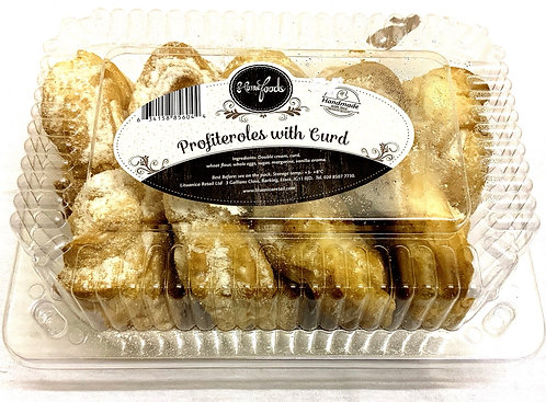 Home Foods Profitroles with Curd Cream 250g