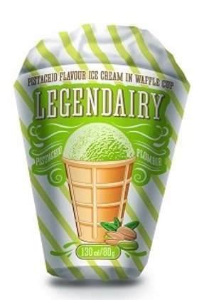 Ice Cream With Pistachio Flavour  Legendairy 130ml