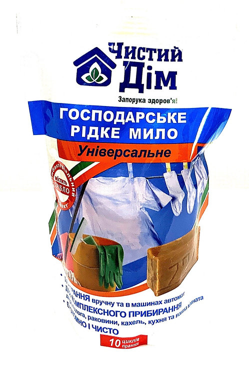 Soap Liquid Clean House Ukraine 500g
