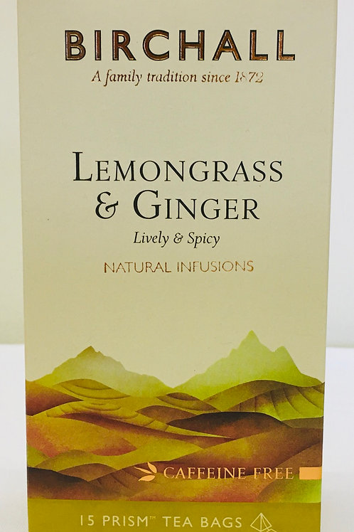 Birchall Lemongrass And Ginger Tea