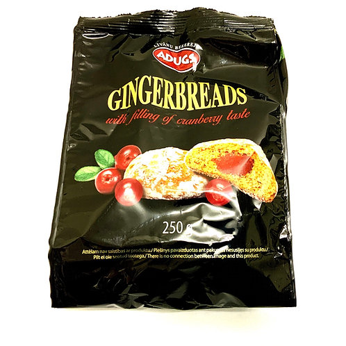 Gingerbread With Filling of Cranberries Taste 250g