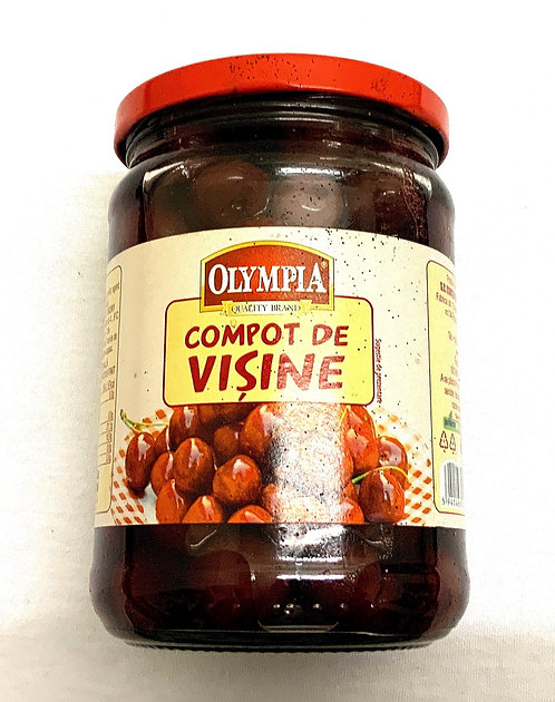 Olympia Sour Cherry Compote / Compot Visine 580ml