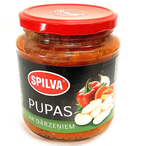 Spilva Baked Beans In Tomato Sauce With Vegetables 580g