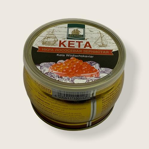 Bering Red Caviar 250 g Keta Salmon